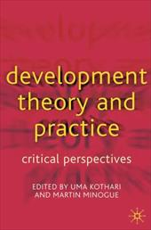 Development Theory and Practice: Critical Perspectives 1036063