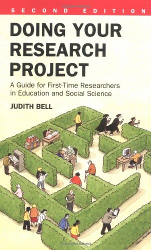 Doing Your Research Project: A Guide for First-Time Researchers in Education and Social Science 9780335190942