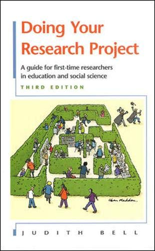 Doing Your Research Project 9780335203888