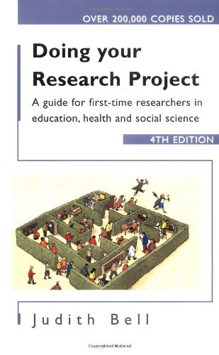 Doing Your Research Project: A Guide for First-Time Researchers in Education, Health and Social Science 9780335215041