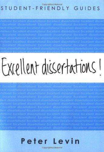 Excellent Dissertations! 9780335218226