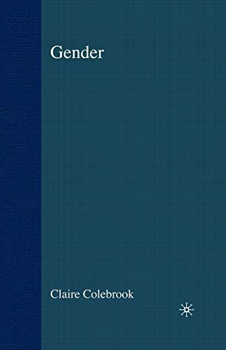 Gender 9780333994580