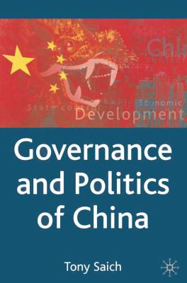 Governance and Politics of China 9780333594872