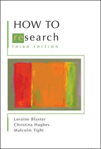 How to Research 9780335217465
