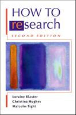 How to Research 9780335209033