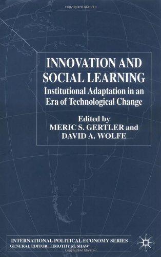 Innovation and Social Learning: Institutional Adaptation in an Era of Technological Change 9780333752845