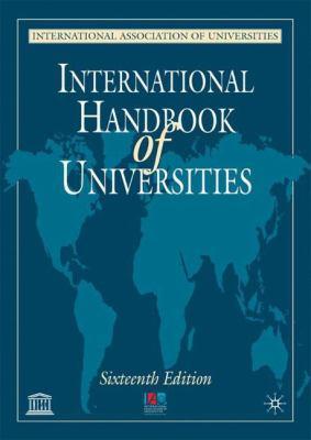 International Handbook of Universities, 16th Edition 9780333945131