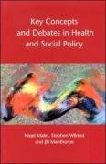 Key Concepts and Debates in Health and Social Policy 9780335199051