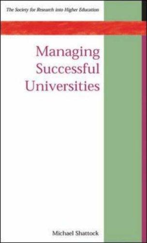 Managing Successful Universities 9780335209613