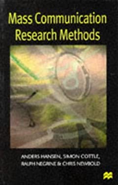 Mass Communication Research Methods 9780333617106