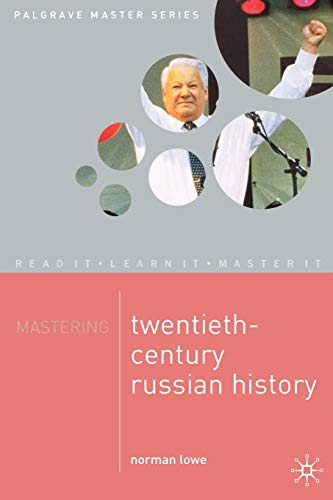 Mastering Twentieth Century Russian History 9780333963074