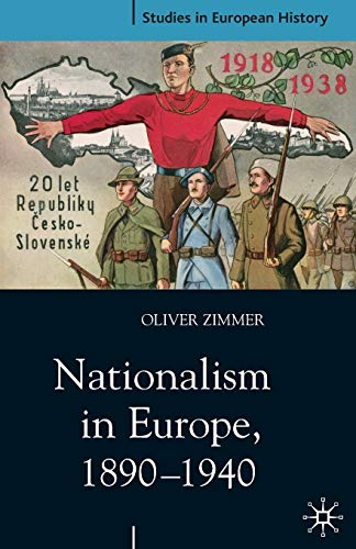 Nationalism in Europe, 1890-1940 9780333947203