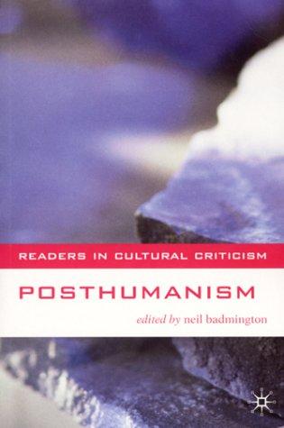 Posthumanism 9780333765388