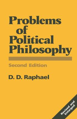 Problems of Political Philosophy 9780333498590