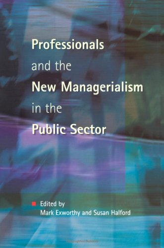 Professionals & New Managerialism 9780335198191