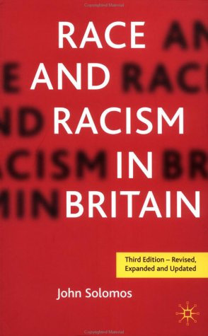 Race and Racism in Britain, Third Edition 9780333764091