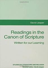 Readings in the Canon of Scripture: Written for Our Learning 11851037