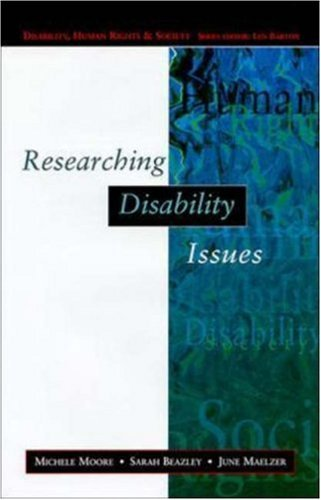 Researching Disability Issues 9780335198030