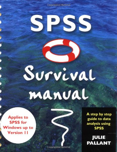 SPSS Survival Manual: A Step by Step Guide to Data Analysis Using SPSS 9780335208906