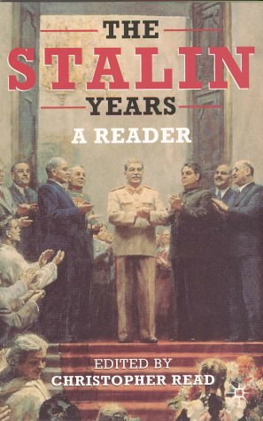 The Stalin Years: A Reader 9780333963432