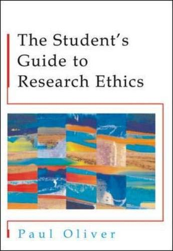 The Students' Guide to Research Ethics 9780335210879
