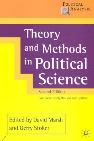 Theory and Methods in Political Science 9780333948552