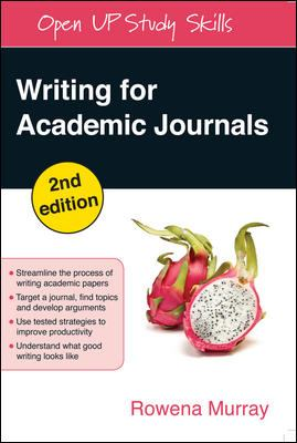 Academic paper writing journals murray pdf
