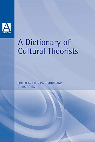 A Dictionary of Cultural Theorists 9780340645482