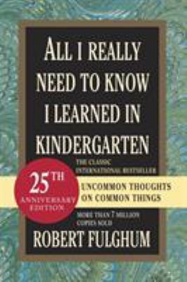 Amazon.com: all i need to know i learned in kindergarten