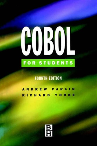 COBOL for Students 9780340645529