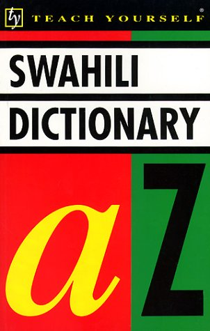 Concise Swahili and English Dictionary 9780340546956