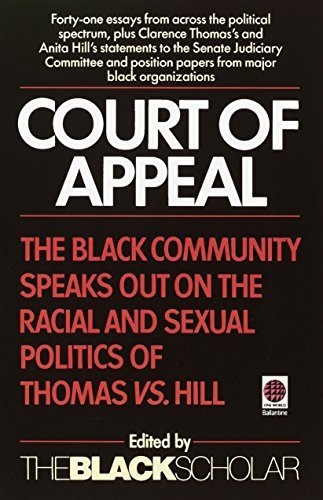 Court of Appeal: The Black Community Speaks Out on the Racial and 9780345381361
