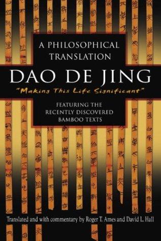 DAO de Jing: A Philosophical Translation 9780345444196