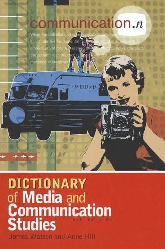 Dictionary of Media and Communication Studies 9780340808290