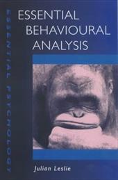 ISBN 9780340762738 product image for Essential Behaviour Analysis | upcitemdb.com