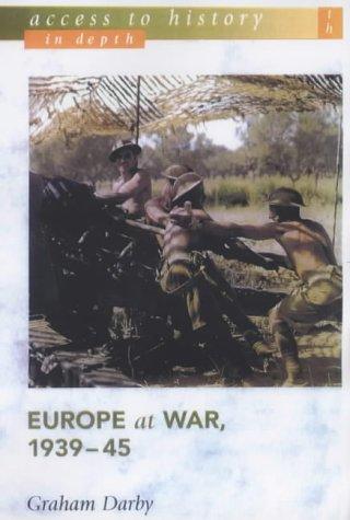 Europe at War, 1939-45 9780340869253