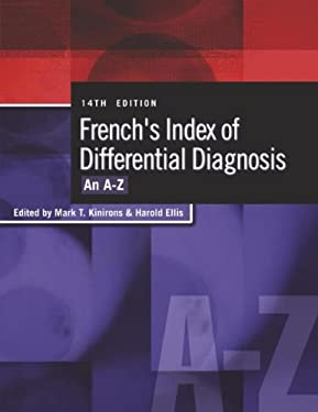 French's Index of Differential Diagnosis: An A-Z 9780340810477