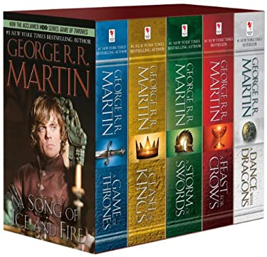 Game of Thrones 5-Copy Boxed Set (George R. R. Martin Song of Ice and Fire Series): A Game of Thrones, a Clash of Kings, a Storm of Swords, a Feast fo 9780345535528