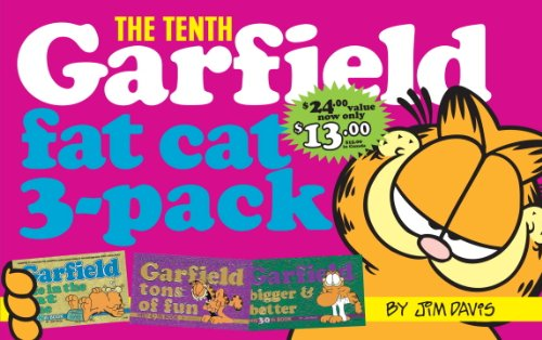 Garfield Fat Cat 3-Pack #10: Contains: Garfield Life in the Fat Lane (#28); Garfield Tons of Fun (#29); Garfi Eld Bigger and Better (#30)) 9780345434586
