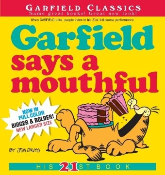 Garfield Says a Mouthful 9780345491794