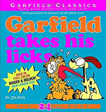 Garfield Takes His Licks: His 24th Book 9780345525871