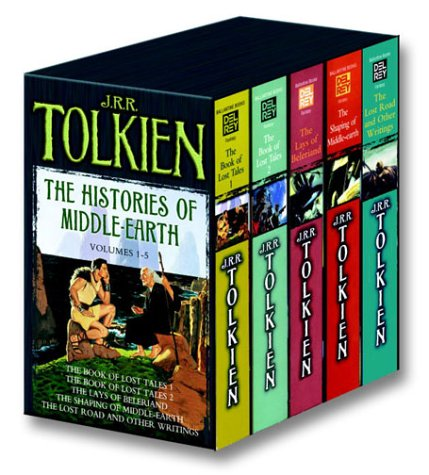 Histories of Middle Earth 5c Box Set MM 9780345466457