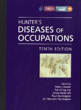 Hunter's Diseases of Occupations 9780340941669