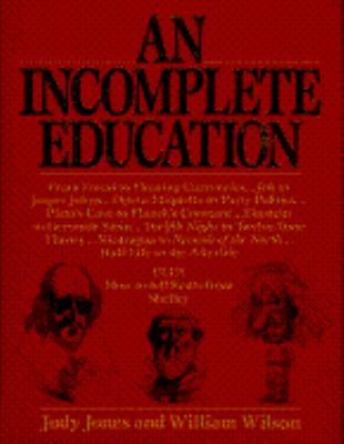 Incomplete Education 9780345295705