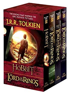 J.R.R. Tolkien 4-Book Boxed Set: The Hobbit and the Lord of the Rings (Movie Tie-In): The Hobbit, the Fellowship of the Ring, the Two Towers, the Retu 9780345538376