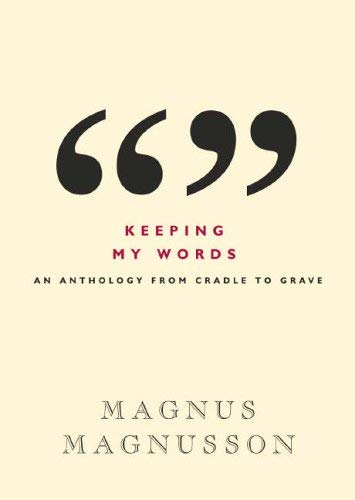 Keeping Your Words