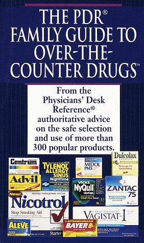 PDR Guide To Over The Counter Drugs