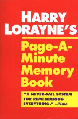 Page-A-Minute Memory Book 9780345410146