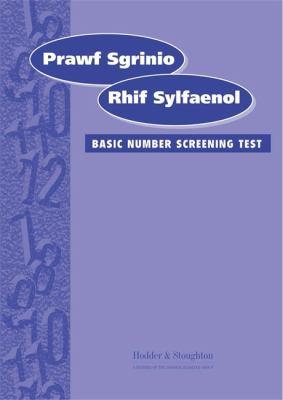 Prawf Sgrinio Rhif Sylfaeno: Basic Number Screening Test 9780340858127