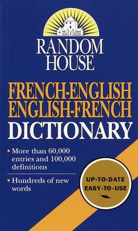 Random House French-English English-French Dictionary 9780345414380